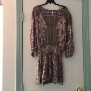 Free People mini dress/tunic XS